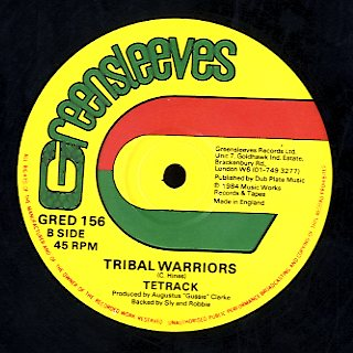 TETRACK / LARRY & ALVIN [Tribal Warriors / Throw Me Corn]