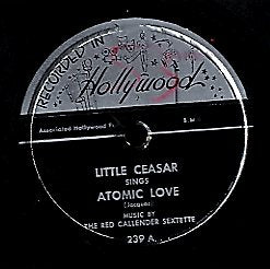 LITTLE CEASER [You Can't Bring Me Down / Atomic Love]