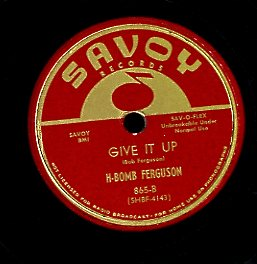 H BOMB FERGUSON [Tortured Love /  Give It Up]