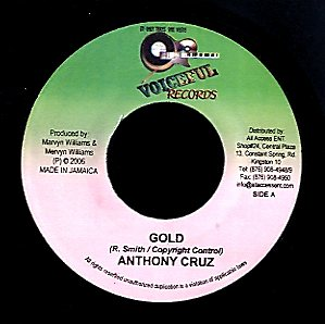 ANTHONY CRUZ / MITCH [Gold / Out Of Control]