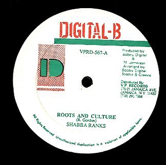 SHABBAN RANKS / RICKEY STEREO [Roots & Culture / Write Mi Will]