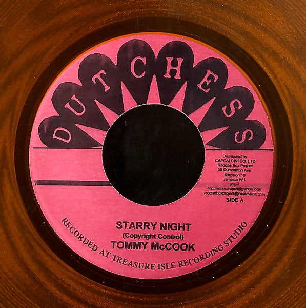 TONY & DENNIS / TOMMY MCCOOK [Fook Song / Starry Night]