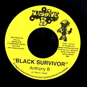 ANTHONY B / CHEZIDEK  [Black Survivor / Holy Mount Zion]