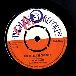 NICKY THOMAS [God Bless The Children / Red Eye ]