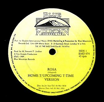 HOME T, UPCOMING T TIME / BRIAN & TONY GOLD [Rosa / Between The Sheets]