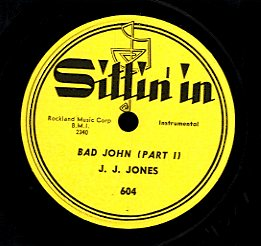J.J. JONES [Bad John (Part 1) / Bad John (Part 2) ]