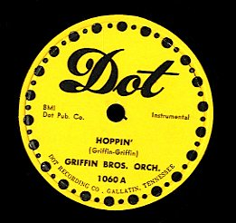 GRIFFIN BROS . ORCH . / GRIFFIN BROTHERS FEATURING TOMMY BROWN [Hoppin ' / Tra-La-La]
