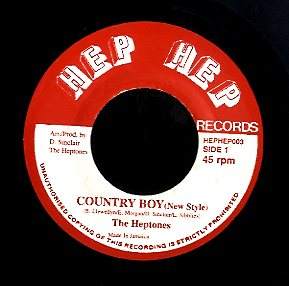 THE HEPTONES [Country Boy (New Style)]