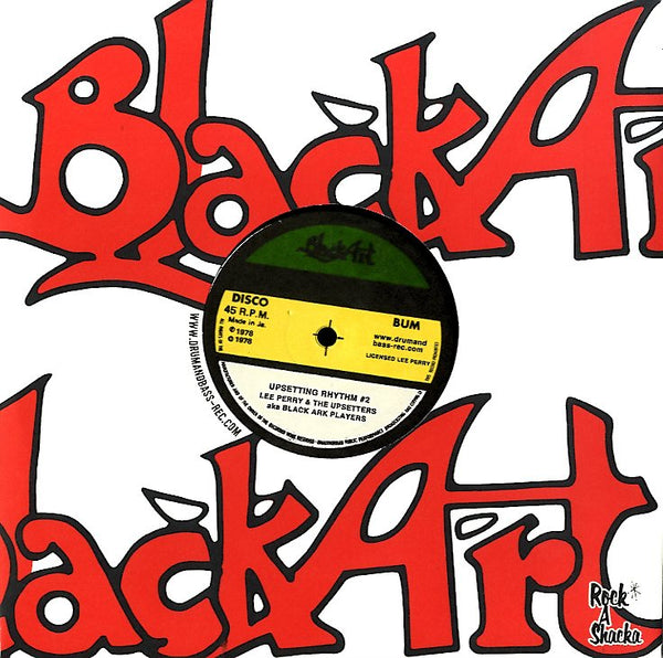 LEE PERRY & THE UPSETTERS AKA BLACK ARK PLAYERS [Milte Hi Ankhen Aka Bird In Hand Sam Carty -Happy Roots- / Upsetting Rhythm #2]