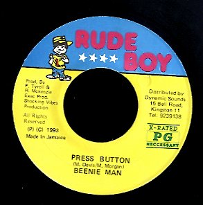 BEENIE MAN [Press Button]
