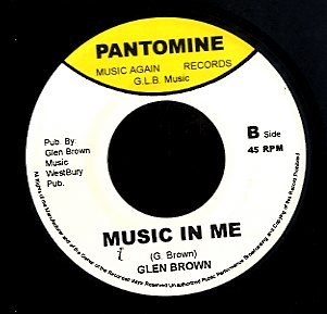 MICHAEL PALMER / GLEN BROWN [Old Pirates / Music In Me]