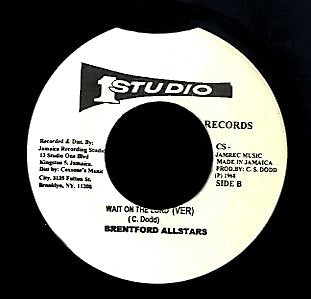 BUNNY & SHERYL / BRENTFORD ALLSTARS [Wait On The Lord / Wait On The Lord Version]
