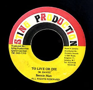 BEENIE MAN [To  Live  Or   Die]