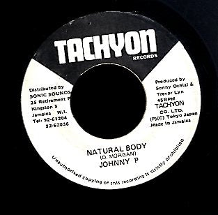 JOHNNY P [Natural Body]
