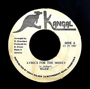 TIGER [Lyrics For The Money]