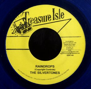 THE SILVERTONES / BABA BROOKS [Rain Drops / The Clock]
