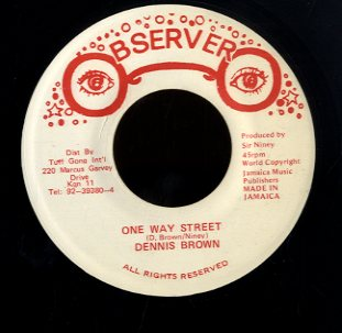 DENNIS BROWN [One Way Street]