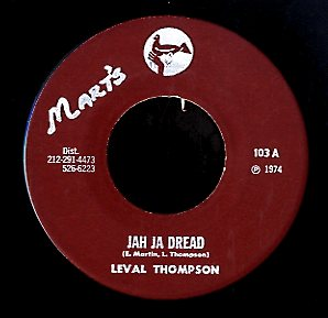LEVAL THOMPSON [Jah Ja Dread]
