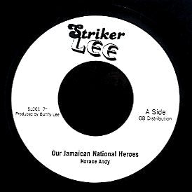 HORACE ANDY [Our Jamaican National Heroes]