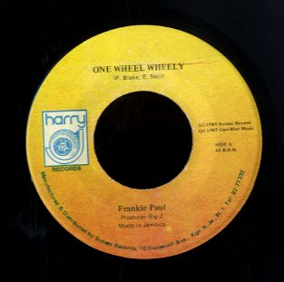 FRANKIE PAUL [One Wheel Wheel]