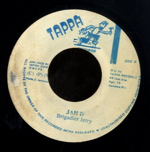 BRIGADIER JERRY / PAM HALL [Jah D / Let Me Tell You Boy]