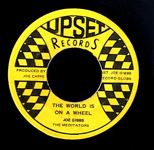 DERRICK MORGAN / THE MEDITATORS [Horse Race / The World Is On A Wheel]