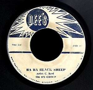 C BYRD / LLOYD AND CECIL [Ba Ba Black Sheep / Come Over Here]