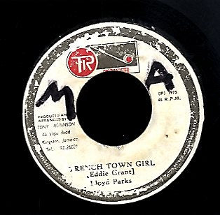 LLOYD PARKS [Trench Town Girl]