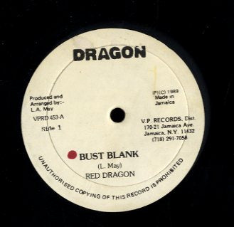 RED DRAGON [Bust Blank]