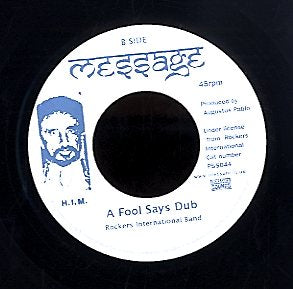 AUGUSTUS PABLO / ROCKERS INTERNATIONAL BAND [A Java Instrumental / A Fool Says Dub]