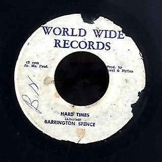 BARRINGTON SPENCE [Hard Times]