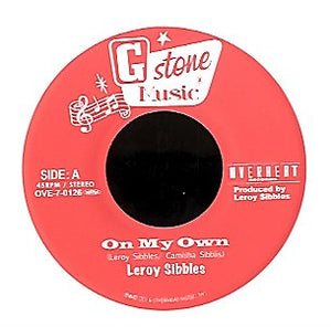 LEROY SIBBLES [On My Own / Version]