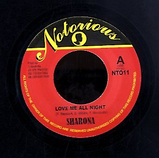 SHARONA [Love Me All Night]