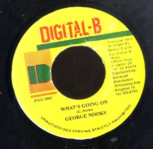 GEORGE NOOKS [What's Going On]