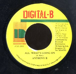 ANTHONY B [All What's Going On]