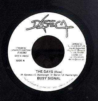 BUSY SIGNAL  [The Days]