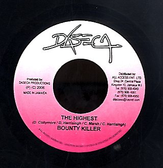 BOUNTY KILLER [The Highest]