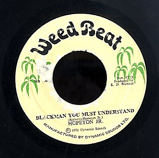 HOPETON JUNIOR [Blackman You Must Understand]
