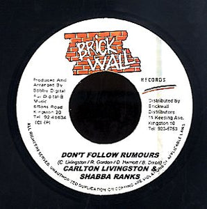 SHABBARANKS & CARLTON LIVINGSTON [Don't Follow Rumous]