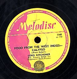 LORD KITCHINER [Kitch - Calypso / Food From West Indies]