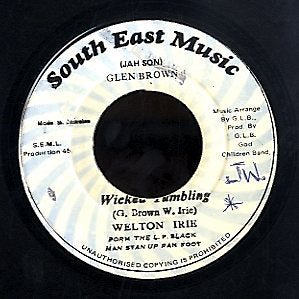 WELTON IRIE [Wicked Tumbling]
