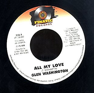 GLEN WASHINGTON [All My Love]