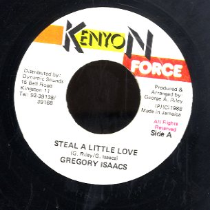 GREGORY ISAACS [Steal A Little Love]