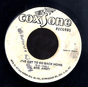 BOB ANDY / MELLODIANS [I've Got  To Go Back Home / Lay It On]