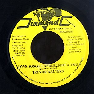 TREVOR WALTERS [Love Songs Candlelight & You]