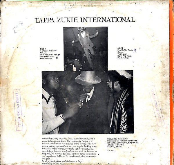 TAPPA ZUKIE [International]
