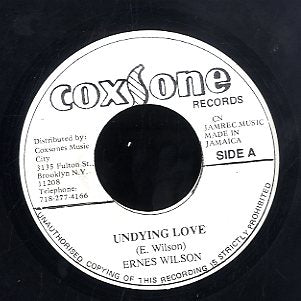 ERNEST WILSON [Undying Love]