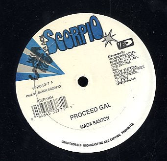 MEGA BANTON / SNAKE MAN [Proceed Gal / Same Old Plan]