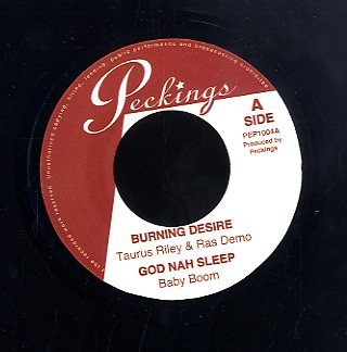 TAURUS RILEY & RAS DEGO / BABY BOOM / ZIGGI RICARDO / DEAN FRAZER [Burning Desire / God Nah Sleep / Flash Up / Drugs Overdose]