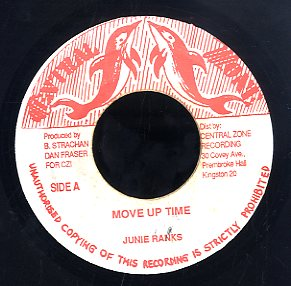 JUNIE RANKS / D. SCOTT [Move Up Time / On On]